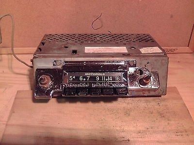 1962 Chevrolet Motorola AM Radio Model CTA62B #25807