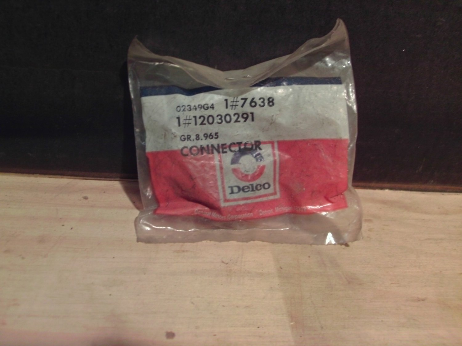 ACDelco #7638 Electrical Connector NOS General Motors GM OE 12030291