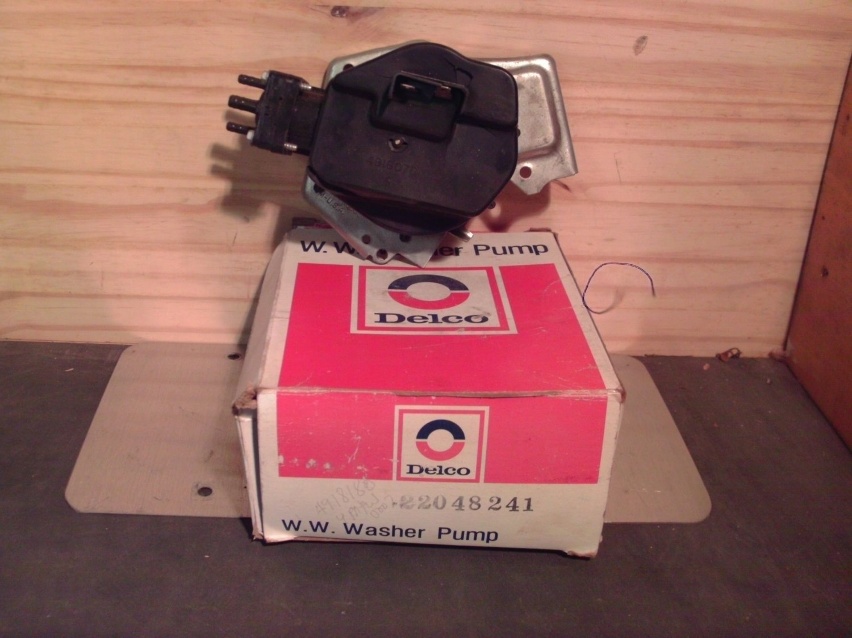 ACDelco 22048241 / 22071780 Original Equipment OE NOS Washer Pump