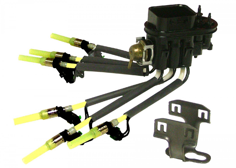 Standard Ignition FJ503 & HK-10 Fuel Injector Assembly With Bracket