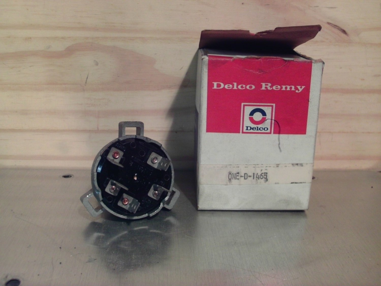 ACDelco D1465 Original Equipment OE NOS Ignition Switch General Motors GM 1116663