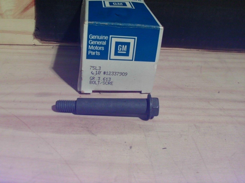 General Motors 12337909 Original Equipment OE NOS Bolt