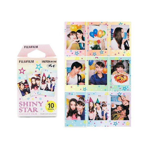 Shiny Star Fujifilm Instax Mini Films Polaroid Photos Accessory