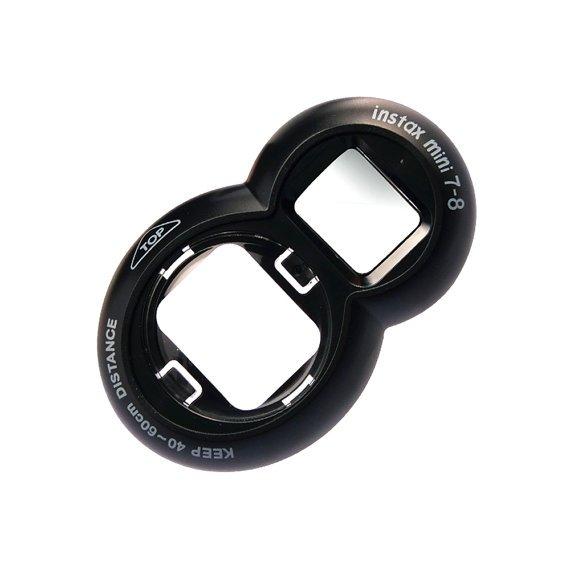 Fujifilm Instax Mini 8 Mini 7S Polaroid 300 Black Selfie Mirror Close Up Lens Camera Accessories