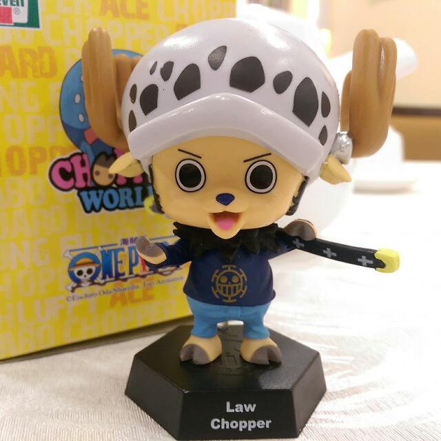 One Piece Law Chopper Figure Famous Japanese Animation Comics Cartoon