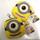 Despicable Me Stuart the Minion Coins Bag Card Holder Stuffed Toy Decoration