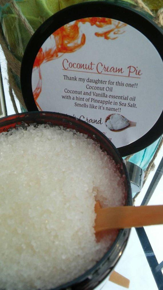 Glorias Grand Coconut Cream Pie Body Scrub