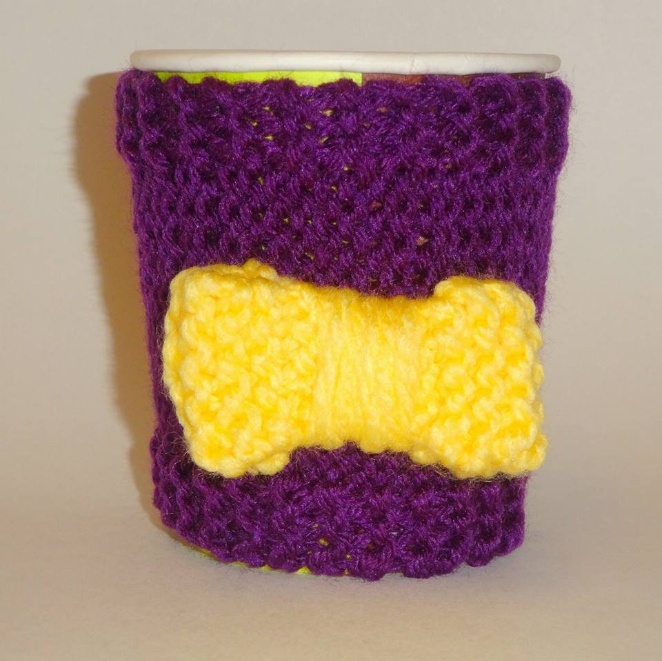 ECU fan coffee cozy