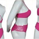 New, Two Piece, ICY Swimwear, Bathing, Swimsuit, Bikini Set, Removable Padding Size X-Large