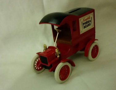 Ertl Replica Ford 1905 First Delivery Car  Bank Campbell;s Pork Beans