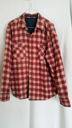 Bud Berma Mens Flannel Thermal Shirt