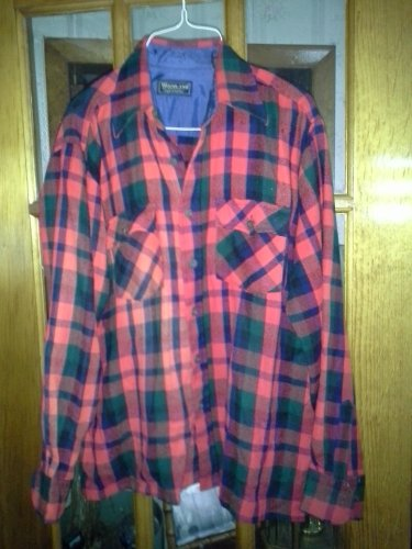 Woodland Flannel Men Shirt Jacket