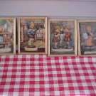 MJ Hummel Prints Set of 6