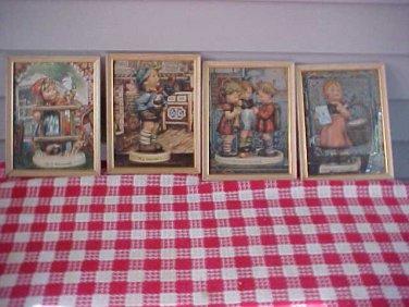 MJ Hummel Prints Set of 6