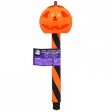"Halloween Plastic Solar-Powered Stake Lights, 12"" set of 12"