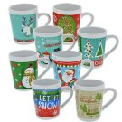 Holiday Stoneware Mug 14 oz in Gift Box  Mix n' Match