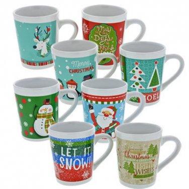 Holiday Stoneware Mug 14 oz in Gift Box  Mix n' Match
