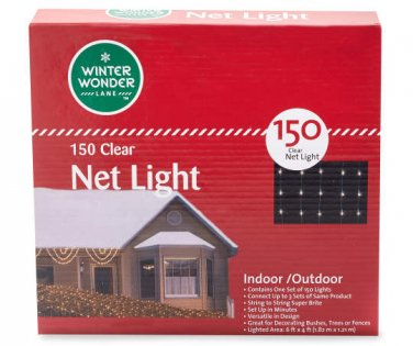 Net Lights 150 count choose from 3