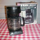 Black & Decker 10 Cup Drip Coffee Maker with Digital Clock