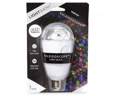 Lightshow Kaleidoscope LED Projection Light Bulb