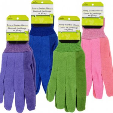Garden Collection Ladies� Jersey Gardening Gloves Dozen Deal