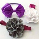 Satin & Grosgrain Headbands