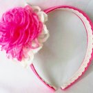 Hancrafted Pink Headband