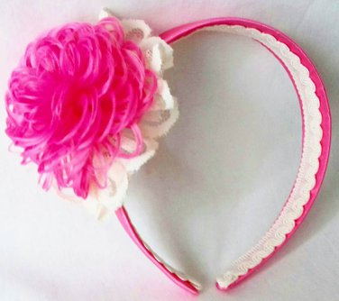 Hancrafted Pink Headband
