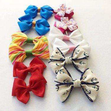 6 Pairs Of Hair Clips