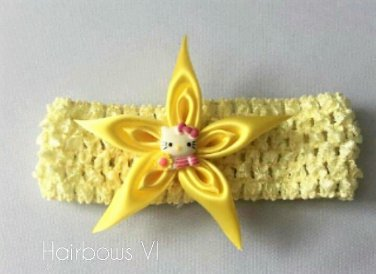 Kanzashi Pointed Star Headband
