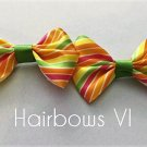 "4"" Candy Cane  Hair Clips"
