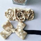 Polka Dot Champagne Headbands