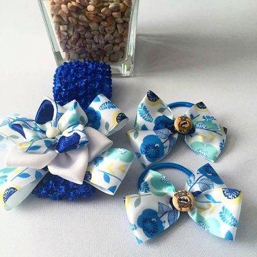 Blue Handcrafted Blue Set