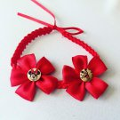Red Mickey & Minnie Braided Headband