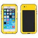 Apple iPhone 7 Yellow PrimeTime Water Resistant Tempered Glass Case Cover