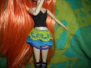 Tri-Color 3-Layer Petticoat-Skirt - Pullip