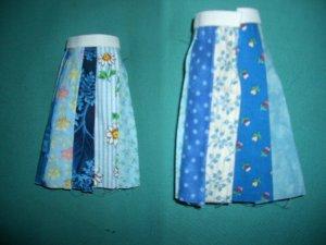 Blue Hippie Skirt for Pullip 2