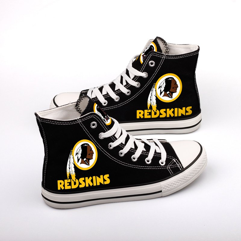 a0b9fb11 Personalized Washington Redskins Gifts Shop Men Women Canvas Shoes ...