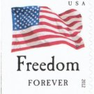 USPS SHEET of 20 Freedom Flag First Class Postage Forever Stamps Booklet