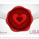USPS SHEET of 20 Sealed With Love First Class Postage Forever Stamps Booklet