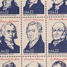 SHEET of 40 Presidents of the United States Stamps Postage Booklet