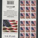 USPS SHEET of 18 U.S. Flag ATM First Class Postage Forever Stamps Booklet #5162a 2017