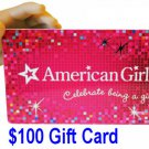 American Girl $100 Gift Card Discount Coupon 100