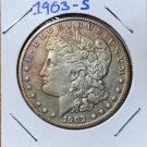 1903-S AU Morgan Silver Dollar $1