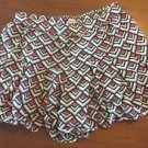 HOLLISTER Women's Shorts Size Small Aztec Gray White Pink & Black Cute!
