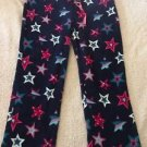 NEW Women's Blue Pajama Pants Sz 2X 18W/20W Snuggly Soft Cute! Multicolor Stars