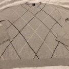 GAP Brand Men's Gray Long Sleeve V-neck Sweater Sz XL Free Shipping