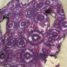 NEW Macy's Grane Brand Long Sleeve Purple Top Sz Medium Cute! Free Shipping