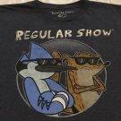 Regular Show Cartoon Network Men's Blue Graphic T-shirt Sz 2XL Free Shipping