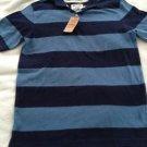 New URBAN PIPELINE Polo Blue Stripe Short Sleeve Older Boys Size XL